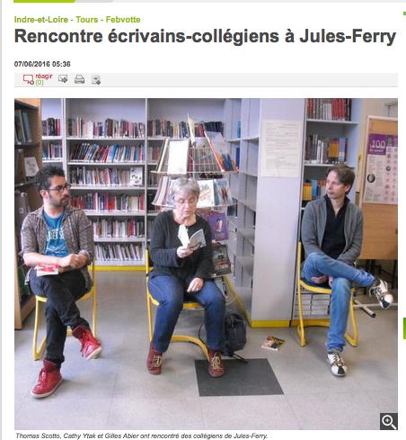 rencontre à Jules Ferry